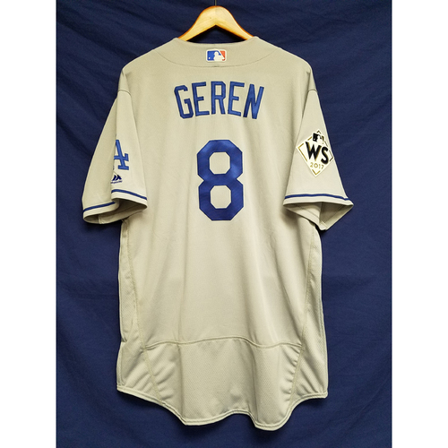 Photo of Bob Geren 2017 Road World Series Team-Issued Jersey
