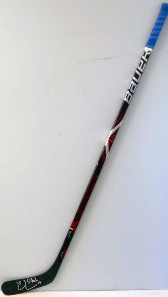#15 Cal Clutterbuck Game Used Stick - Autographed - New York Islanders