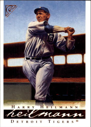 Photo of 2003 Topps Gallery HOF #21 Harry Heilmann -- Hall of Fame Class of 1952
