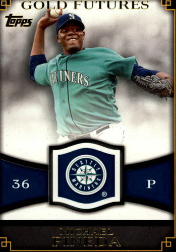 Photo of 2012 Topps Gold Futures #GF1 Michael Pineda