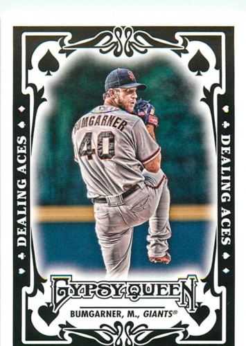 Photo of 2013 Topps Gypsy Queen Dealing Aces #MB Madison Bumgarner