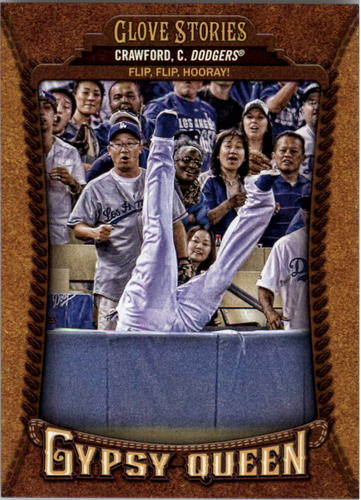 Photo of 2014 Topps Gypsy Queen Glove Stories #GSCC Carl Crawford