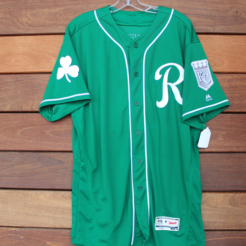 Photo of Team-Issued St. Patrick's Day Jersey: Sebastian Rivero (Size 46)