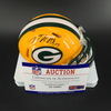 NFL - Packers Davante Adams Signed Mini Helmet