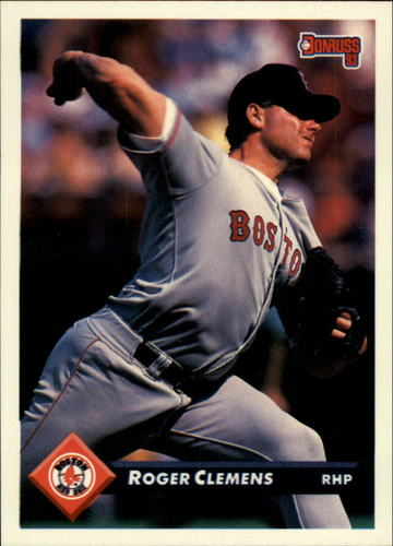 Photo of 1993 Donruss #119 Roger Clemens
