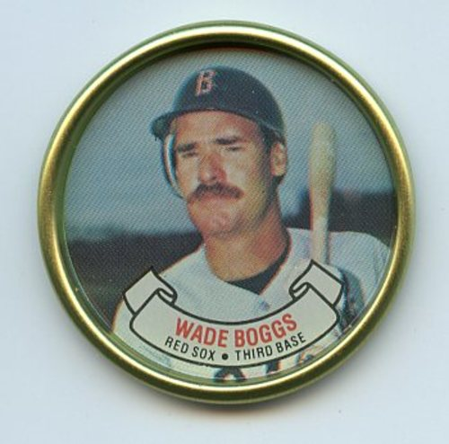 Photo of 1987 Topps Coins #4 Wade Boggs