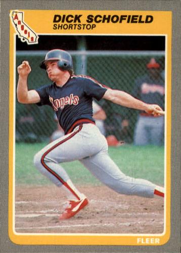 Photo of 1985 Fleer #311 Dick Schofield