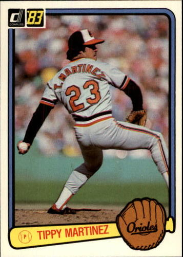 Photo of 1983 Donruss #357 Tippy Martinez