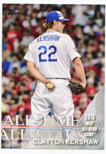Photo of 2017 Topps All Time All Stars #ATAS27 Clayton Kershaw
