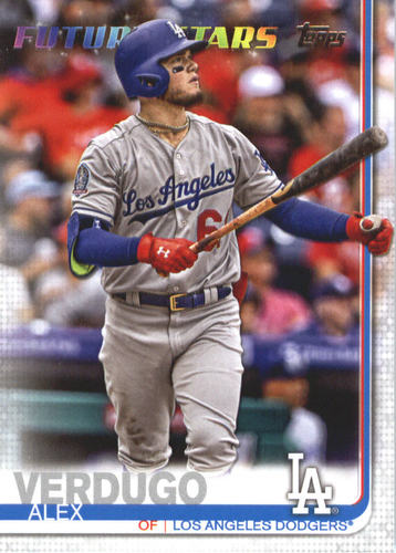 Photo of 2019 Topps #671 Alex Verdugo FS
