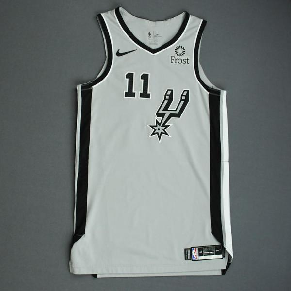 Image of Bryn Forbes - San Antonio Spurs - Game-Worn Statement Edition Jersey - NBA Mexico Games - 2019-20 NBA Season