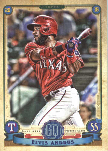 Photo of 2019 Topps Gypsy Queen #56 Elvis Andrus