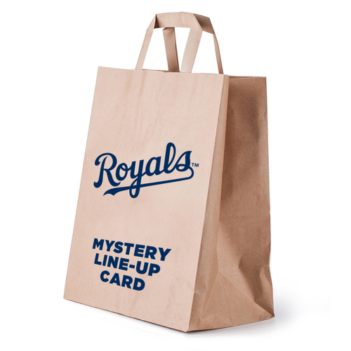 Photo of Kansas City Royals Mystery Line-Up Card