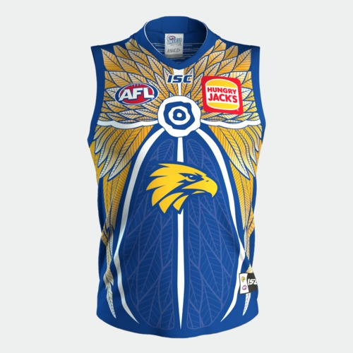 Photo of 2020 West Coast Eagles Indigenous Guernsey - Player Issue #34 Mark Hutchings
