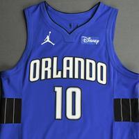 Evan Fournier - Orlando Magic - Kia NBA Tip-Off 2020 - Game-Worn Statement Jersey - Scored Team-High 25 Points