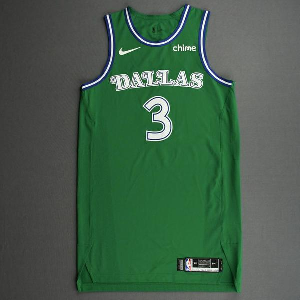 Image of Trey Burke - Dallas Mavericks - Classic Edition (1966-67 Home Uniform) Jersey - Christmas Day '20
