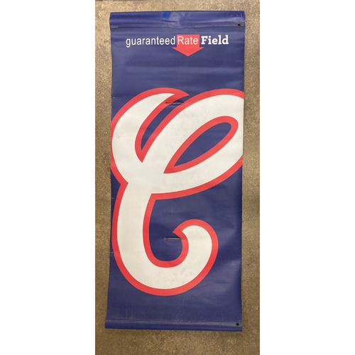 Photo of White Sox 1987 Alternate Logo Banner - NOT MLB Authenticated