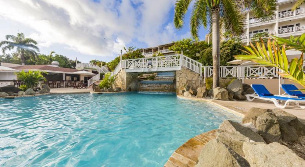 Elite Island Resort Certificate - Pineapple Beach Club, Antigua - 7 to 9 nights of Oceanview accommodation, for two rooms double occupancy at the Pineapple Beach Club in Antigua. The Pineapple Beach Club is an Adult Only Resort.
