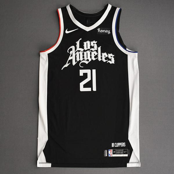 Image of Patrick Beverley - Los Angeles Clippers - Game-Worn City Edition Jersey - 2nd Half - 2021 NBA Playoffs