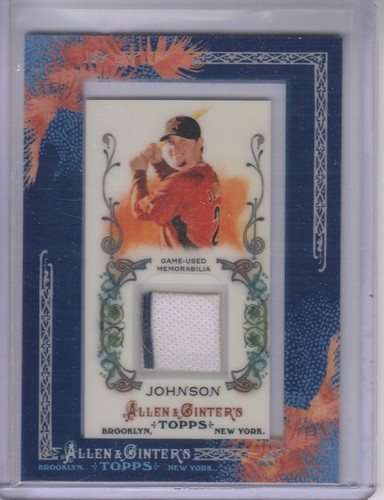Photo of 2011 Topps Allen and Ginter Relics #CJO Chris Johnson