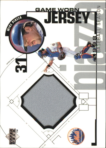 Photo of 1999 Upper Deck Game Jersey #MP Mike Piazza HR1