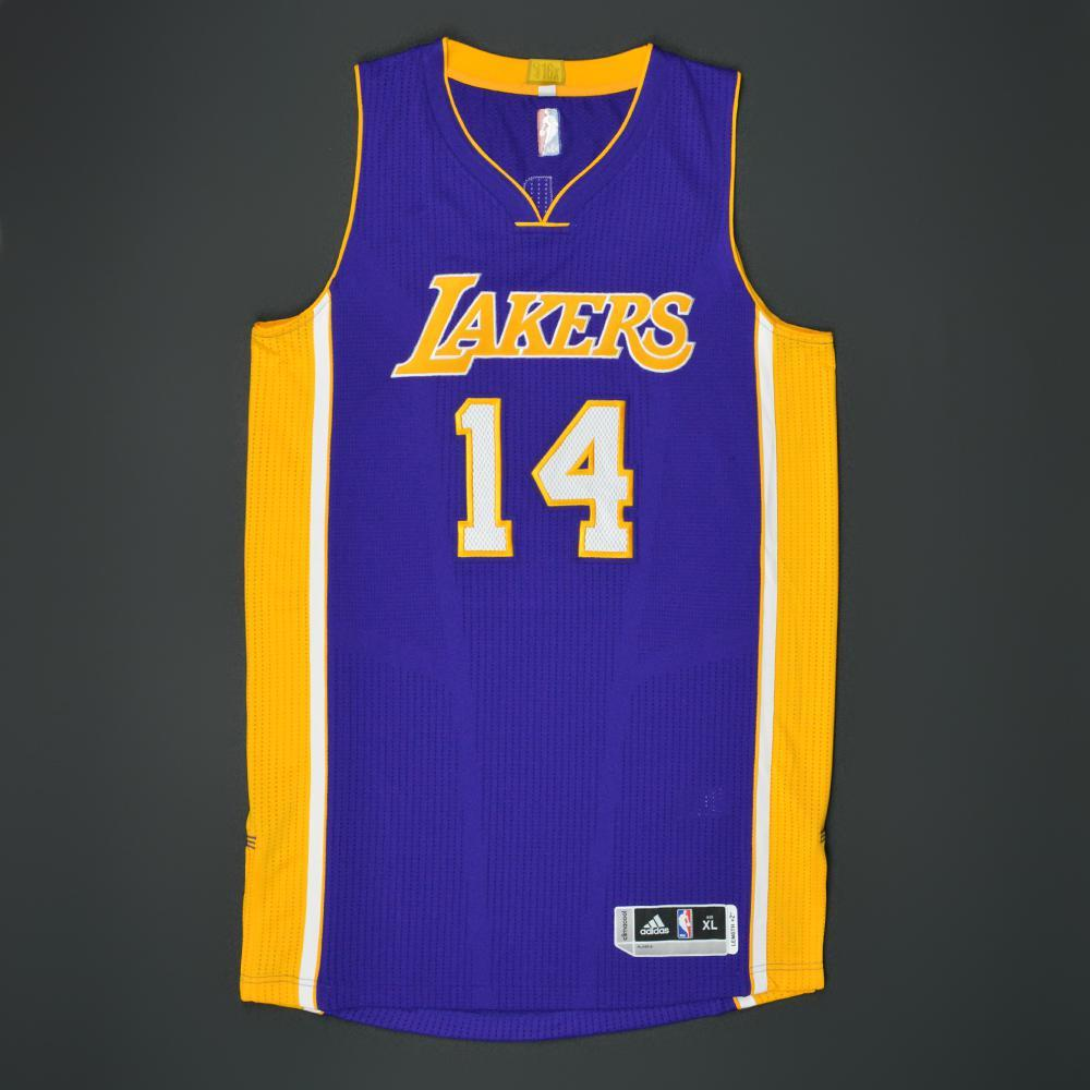 0972892e9 Brandon Ingram - 2016 NBA Draft - Los Angeles Lakers - Autographed Jersey