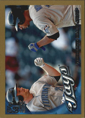 Photo of 2010 Topps Gold Border #472 Toronto Blue Jays