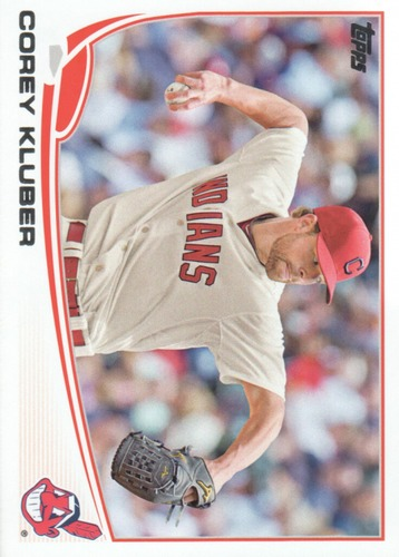 Photo of 2013 Topps Update #US105 Corey Kluber Rookie Card