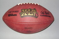 NFL - SUPER BOWL 41 GAME USED FOOTBALL (BEARS OFFENSE)