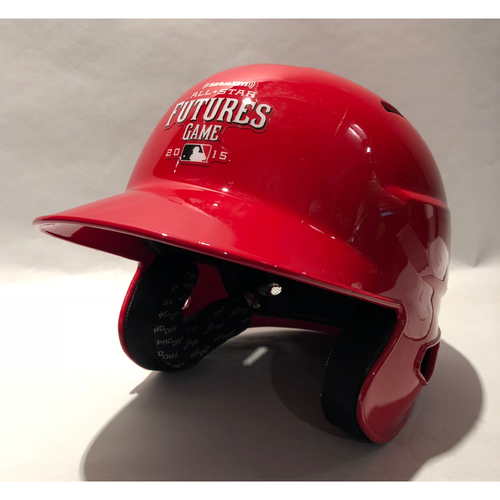 Photo of 2015 Futures Game - Brandon Nimmo Game-Used Batting Helmet