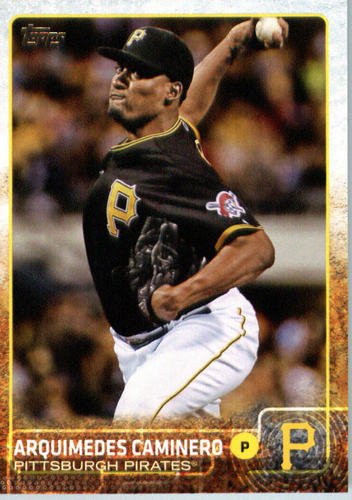 Photo of 2015 Topps Update #US222 Arquimedes Caminero