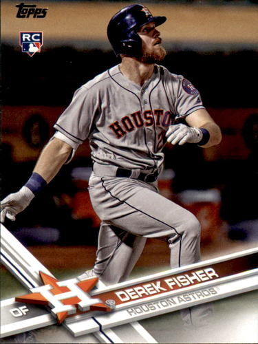 Photo of 2017 Topps Update #US90A Derek Fisher RC