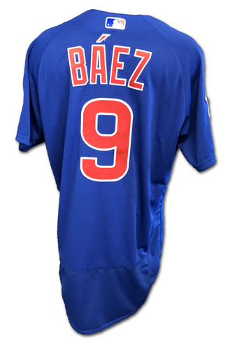 Photo of Javier Baez Team-Issued Jersey -- Size 42 -- Spring Training 2019