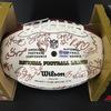 Patriots - 2010 Team Multi Signed Ball Over 45 Signatures Including Kevin Faulk, Brian Hoyer, Sammy Morris, Fred Taylor, Wes Welker, Rob Gronkowski, Matthew Slater, Stephen Gostkowki, Aaron Hernandez