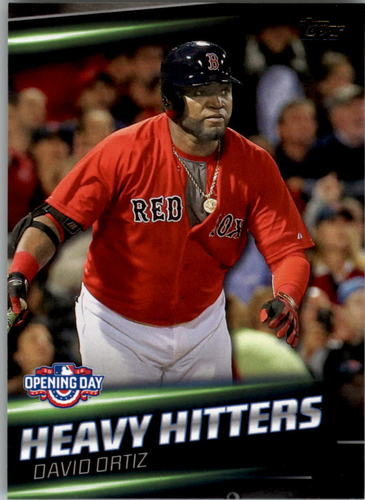 Photo of 2016 Topps Opening Day Heavy Hitters #HH11 David Ortiz