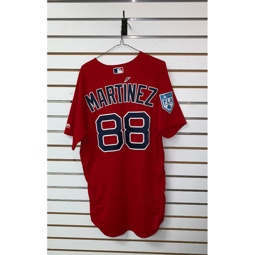 Photo of Mani Martinez team issued 2019 Spring Training Jersey