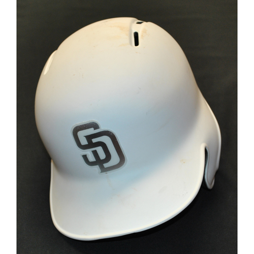 "Photo of Manuel ""YOANDRY"" Margot San Diego Padres Game-Used 2019 Players' Weekend Helmet"