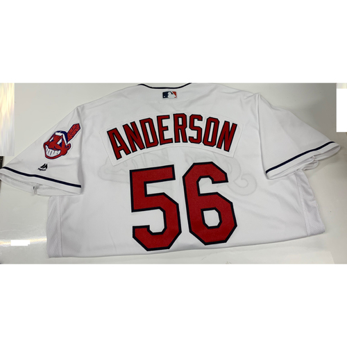 Photo of Cody Anderson Team-Issued Home Jersey