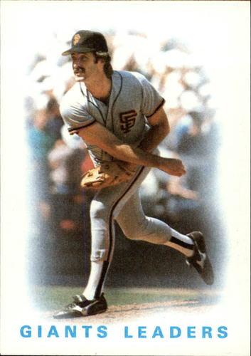 Photo of 1986 Topps #516 Giants Leaders/Greg Minton