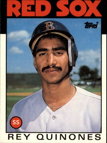 Photo of 1986 Topps Traded #89T Rey Quinones