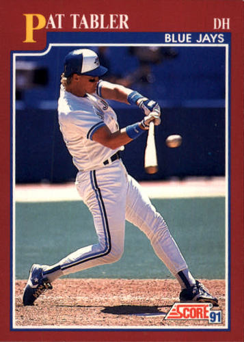 Photo of 1991 Score Rookie/Traded #22T Pat Tabler