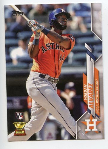 Photo of 2020 Topps #276 Yordan Alvarez RC