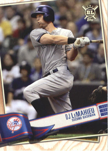 Photo of 2019 Topps Big League #19 DJ LeMahieu