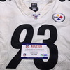 STS - Steelers Daniel McCullers Game Used Jersey (11/24/19) Size 50