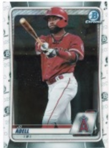 Photo of 2020 Bowman Chrome Prospects #BCP100 Jo Adell
