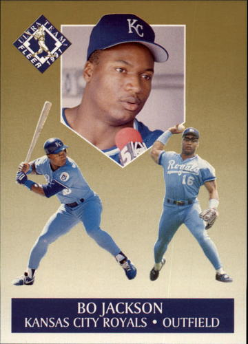 Photo of 1991 Ultra Gold #6 Bo Jackson