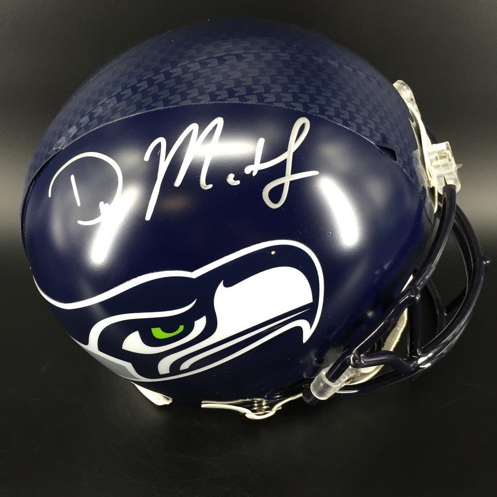 NFL - Seahawks D.K. Metcalf Signed Proline Helmet