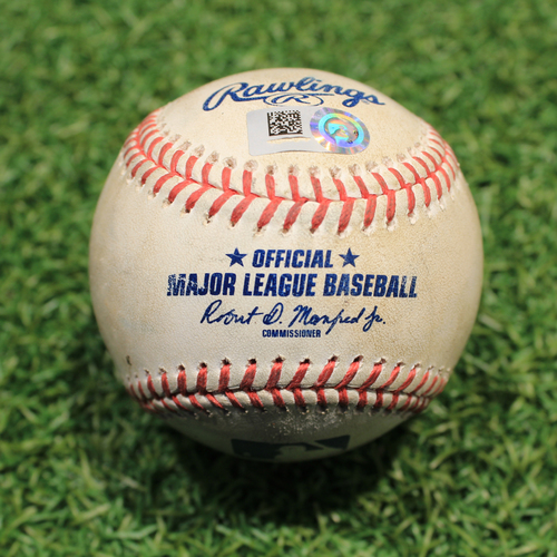 Photo of Game-Used Baseball: Tim Anderson 664th Career Hit (CWS@KC 5/8/21)
