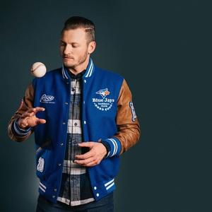 Blue Jays Shop | Award Melton Leather Jacket by Roots