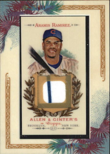 Photo of 2007 Topps Allen and Ginter Relics #AR Aramis Ramirez J